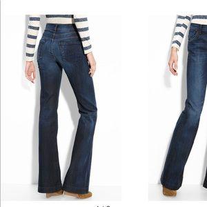 C of H Hutton Mid Rise Wide Leg Denim Jeans